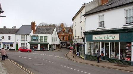 Ottery town. Ref sho 10-17TI 8339. Picture: Terry Ife