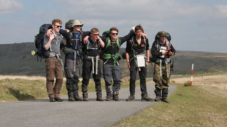 Sidmouth College submited its first 55 mile team into the competition for some years.