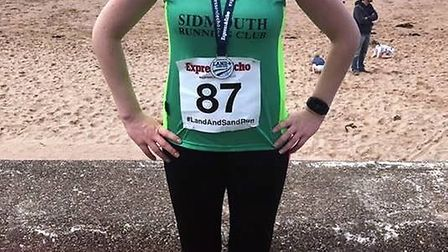 Suzi Rockey at the Exmouth Land and Sand 5k