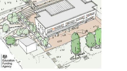 Proposals for a new school building at Newton Poppleford Primary School