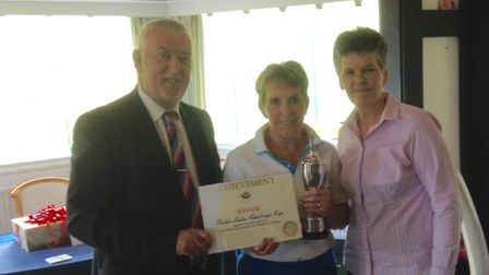 The Fields Cup presentation by Brian Dowie from Fields to Sheila Tallon