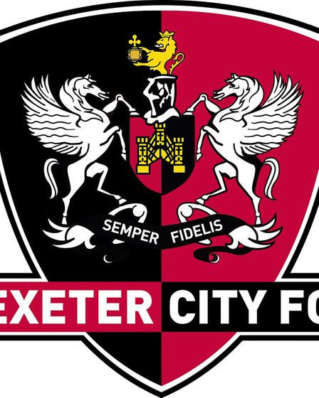 The Exeter City badge