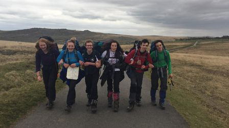 Students from Sidmouth College are gearing up for Ten Tors this weekend.