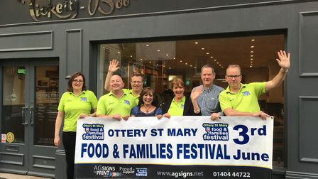 Organisers are now counting down the days until Ottery's 5th Food and Families Festival.