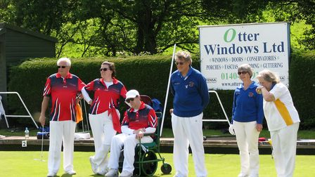 The Disability Bowls England visit to Ottery St Mary