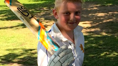 Lawrence Walker scored 27 in the Ottery Under-13s win at Exeter