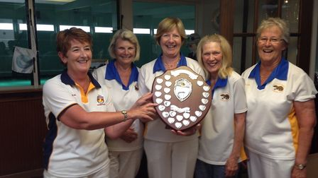 The Ottery St Mary team that won the Spears Trophy at Sidmouth