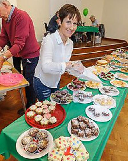 Some of the delicious treats available at the event.