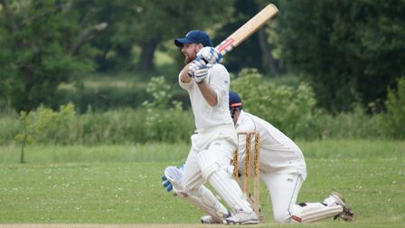Tipton St John batsman Tom Birch who scored his maiden Tipton half century in the win over touring s