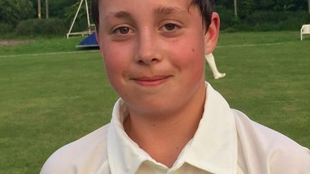 Ottery St Mary Under-13s player Ben Lawler scored 40 and retired as his team made it six wins out of