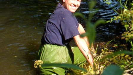 Ecologist Louise Woolley