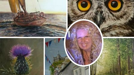 Jacqueline Steel will be holding an art exhibition at Kennaway House.