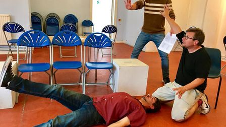 Actors are beginning rehearsal ahead of Sidmouth's annual summer play festival.
