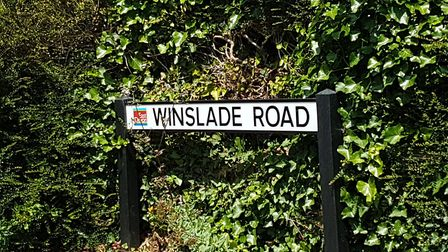 Winslade Road in Sidmouth