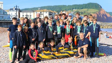 Sidmouth Surf Lifesaving Club was awarded a £10,000 grant from the Big Lottery Fund