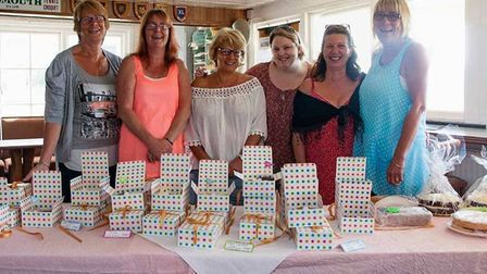Julie Clayden's friends raised £850 with the bake sale and online appeal