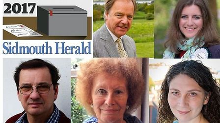 Candidates Hugo Swire, Claire Wright, Peter Faithfull, Jan Ross and Alison Eden all responded to Ott