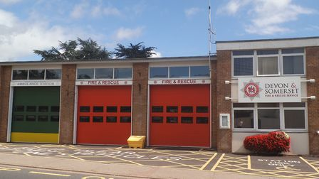 Sidmouth Fire Station in Woolbrook Road