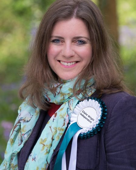 Independent General Election candidate for East Devon Claire Wright. Picture credit: Paula Fernley P