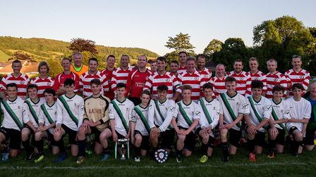 The teams who contested the Sam Marriott Cup.