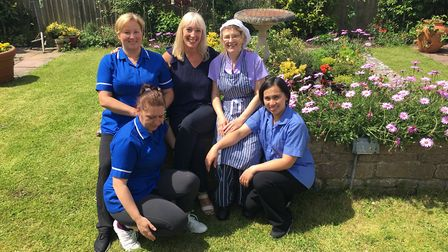 Staff at Ridgeway Residential Care Home are celebrating a good CQC result.