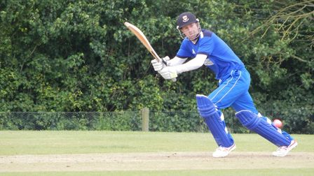 Sidmouth batsman Anthony Griffiths