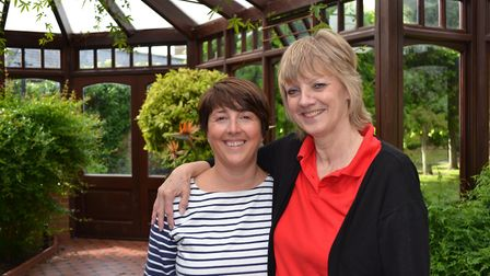 Lynne Thorne and Lynne Maxwell hope as many people as possible will go along to their event to suppo