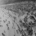Crowds flock to the beach at Jacob's Ladder. Taken 3 July, 1976. Picture: Sidmouth Herald archives