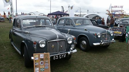 The Rover 110 and 95 were the last examples of the P4 range which helped earn Rover their advertised