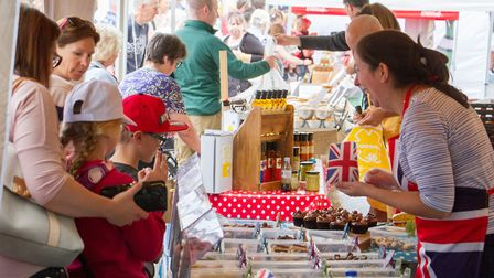 Ottery's food and families festival. Ref sho 23-17TI 3818. Picture: Terry Ife