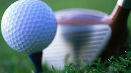 A golfing picture