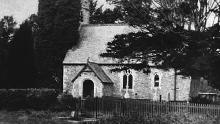 A historic picture of Venn Ottery Church