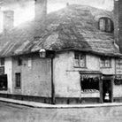 Theophilus Mortimore's poultry shop in Church Street, which traded between 1883 and 1886. Photos fro