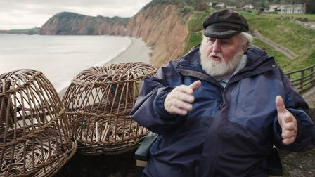 Fisherman Stan Bagwell was filmed for the Sea Fest film Working the Sea