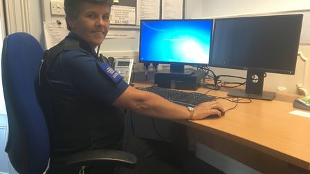 Maria Clapp is stepping down as PCSO after nearly 15 years on the job.
