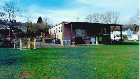 A photo from the plans for Sidbury Primary School