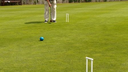Budleigh croquet club. Ref exsp 25 17TI 5495. Picture: Terry Ife