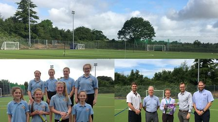 Ottery Leisure Centre has opened its new synthetic pitch following an eight week renovation project.