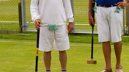 Sidmouth Croquet. Ref shsp 27 17TI 6446. Picture: Terry Ife