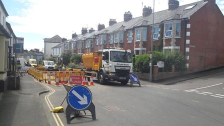 Wales & West Utilities have been carrying out work since Friday following reports of a gas leak in T