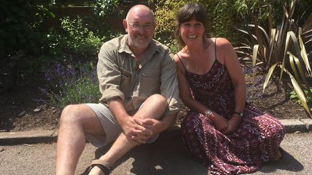 Pete and Tracey Scott are looking to run gardening groups to help those that are isolated in the com
