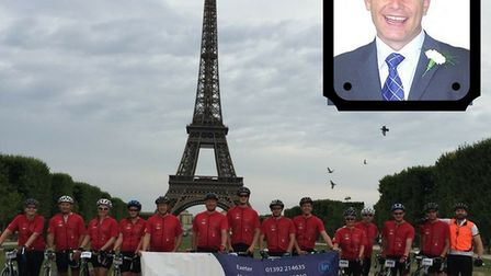 Colleagues and friends of Nick Baker are taking on a four day cycle in aid of charity. They have nam