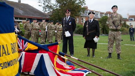 Sidmouth's armed forces day. Ref shs 26 17TI 5729. Picture: Terry Ife