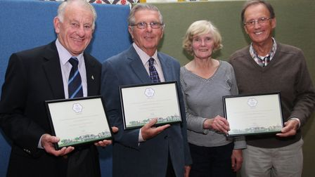 Neighbourhood Awards for Friends of the Byes, Sidmouth Valley of a Million Bulbs and the Chairman's