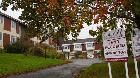 Green Close care home site in Sidford. Ref shs 43-16TI 0477.CR2