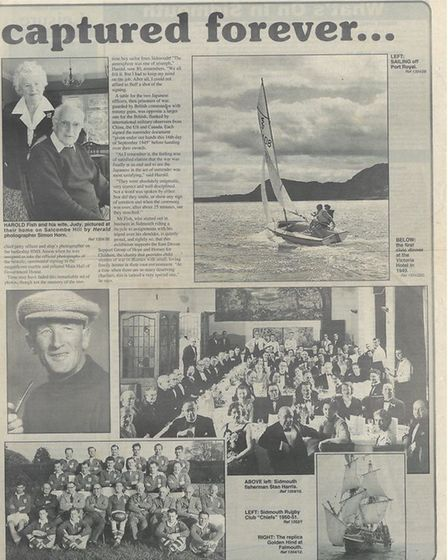 A spread by the Herald about Harold's work as a photographer.