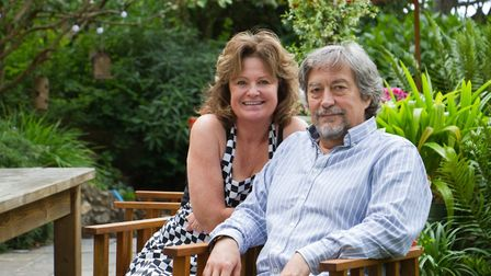 Richard and Jayne Eley. Ref esr 23 17TI 4221. Picture: Terry Ife