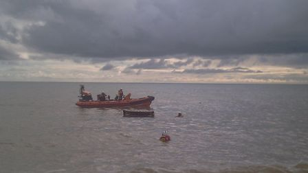 Beer Coastguard were called out to assist a woman who had fallen and suffered facial injuries.