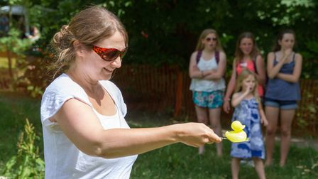 The Sidmouth Lions Great Duck Derby. Ref shs 28-17TI 7116. Picture: Terry Ife