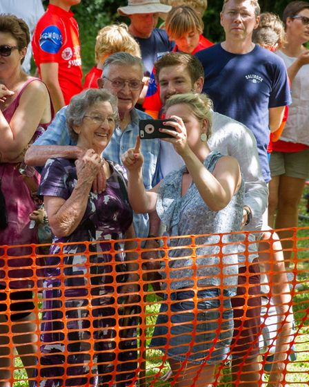 The Sidmouth Lions Great Duck Derby. Ref shs 28-17TI 7164. Picture: Terry Ife